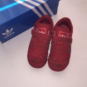 Boys Toddler Velcro Adidas